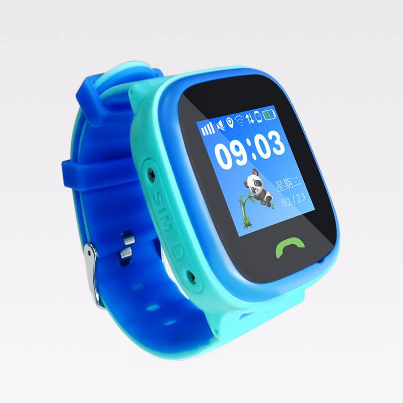 Waterproof positioning watch for children